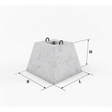 Фундамент панелі огорожі ФЗП 1-1