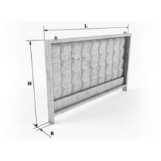 Плита ограды 3П 250