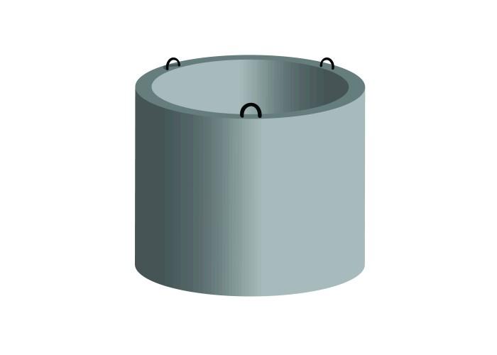 Кольцо для колодца КСЕ 10-6